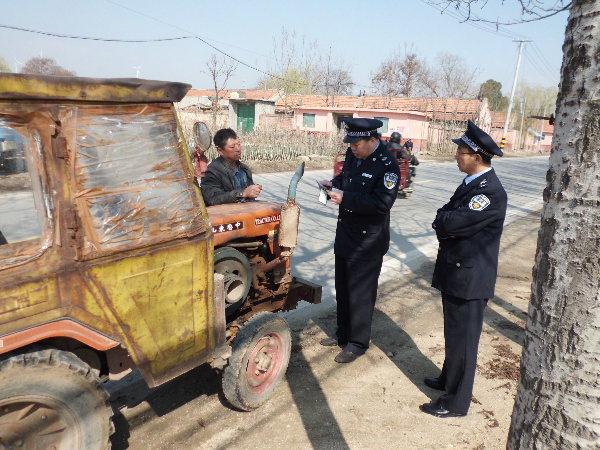 农机局开展农机安全生产大检查巡查督导工作
