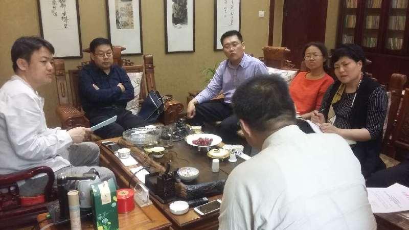 市服务业发展局积极对接山东鲁菜研发中心