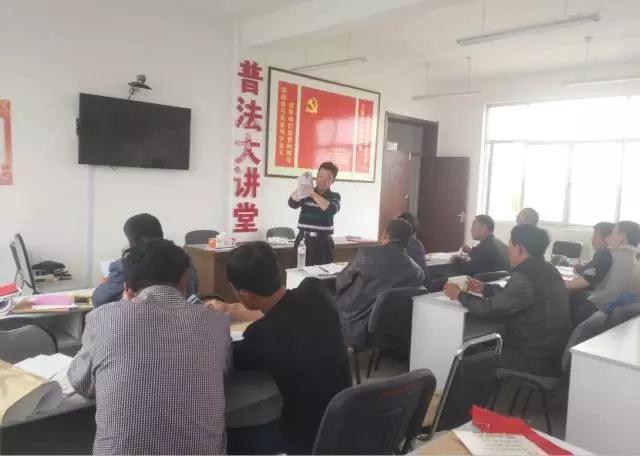 崔家集镇:第十管区召开村庄支部书记、文书会议布置近期工作