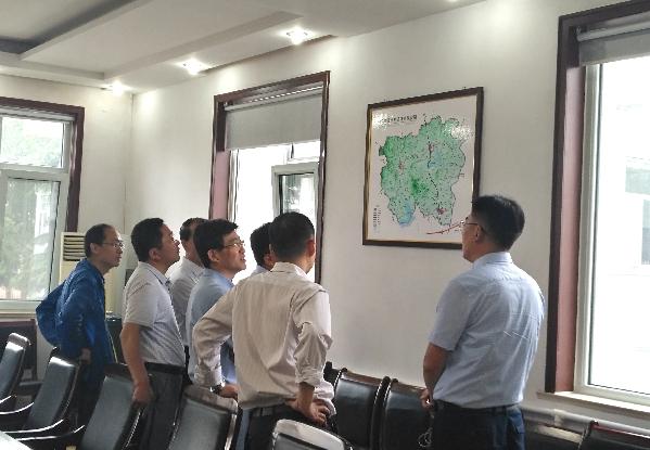 淄博市委组织部副部长任书升一行来旧调研