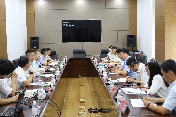 杨旭东会见上海数荃数据科技有限公司