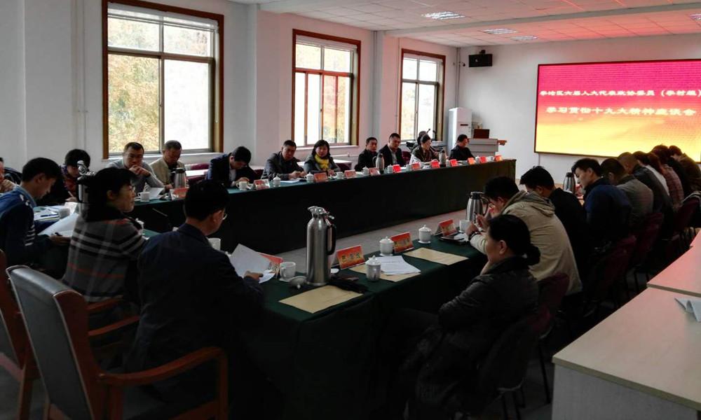 李村街道开展六届人大代表小组活动