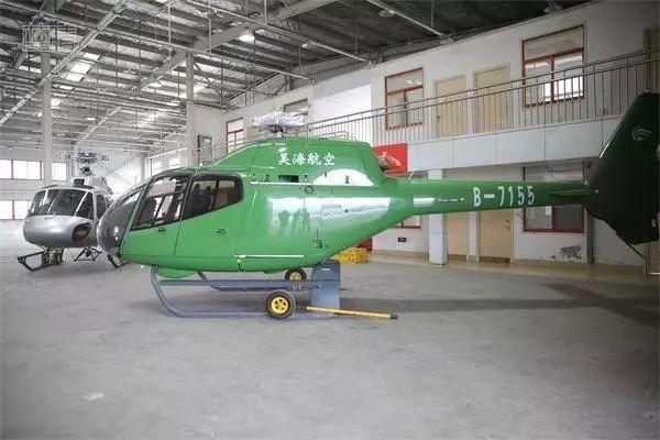 首批直升机入青岛西海岸出口加工区