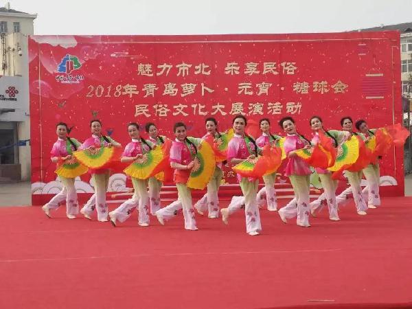 萝卜元宵糖球会文化大展演板块兴隆路街道专场演出