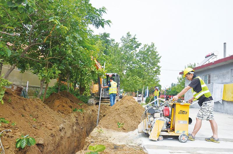 今年美丽乡村工程开工建设