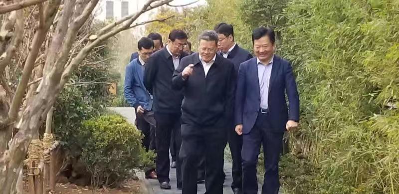 """孟凡利市长调研昌邑路""""口袋公园"""""""
