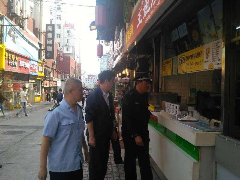 特色街开展综合检查 确保端午节安全有序