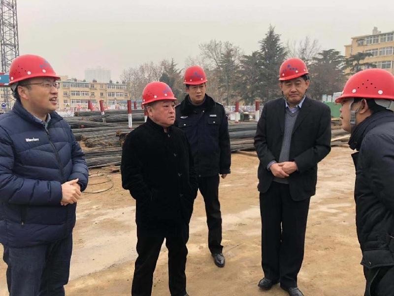 王鳳田到延安路街道辦事處督導安全生產監管工作