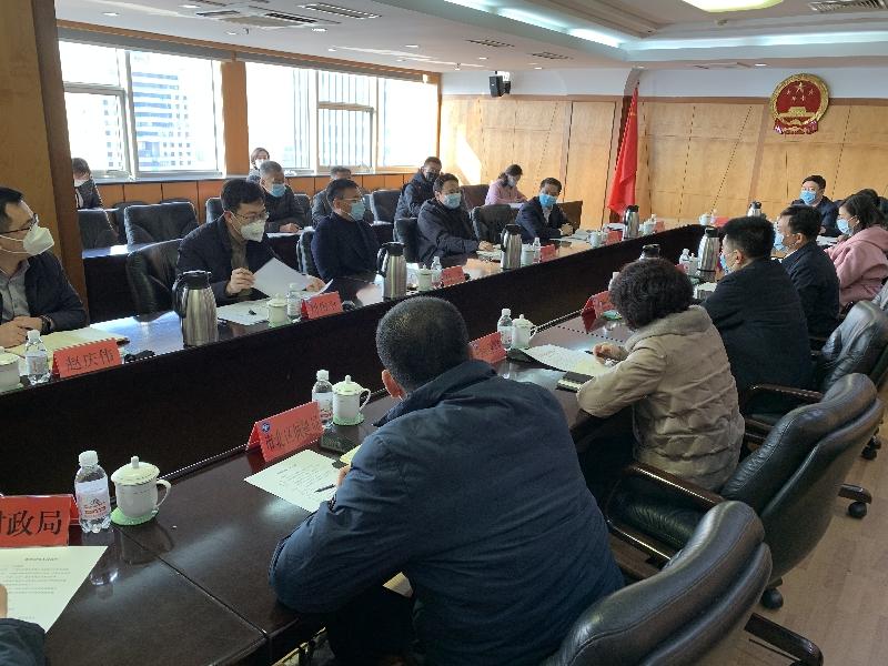 張永國會見中鐵股份青島分公司總經理龍明華