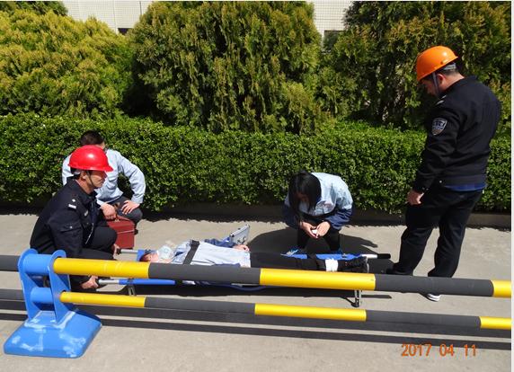 白沙河动监站组织青岛统一饲料消防演练,提升安全意识