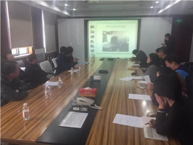 阜新路街道办事处组织召开燃气安全协调会