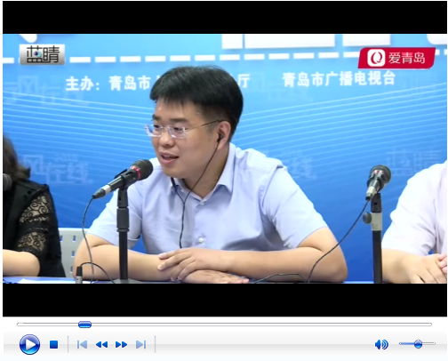 市北区政府副区长曹镇做客行风在线