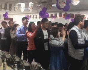 香港中路街道组织双十一告别单身相亲嘉年华