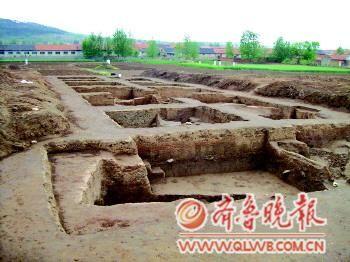 7000多年前的北阡古人类遗址。