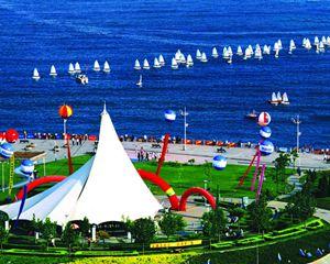5月4日这一天:纪念青岛开放30年大型实景采访