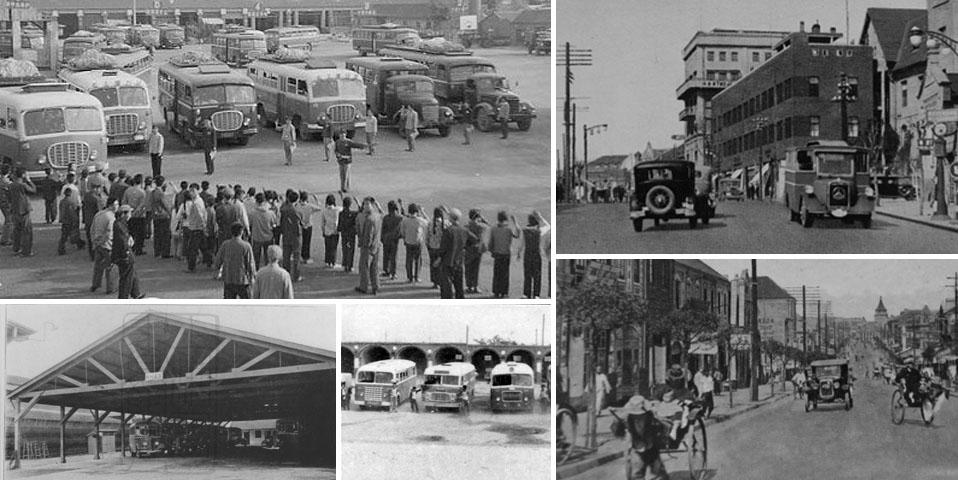 中国最早汽车站 1910年青馆陶路车站运营