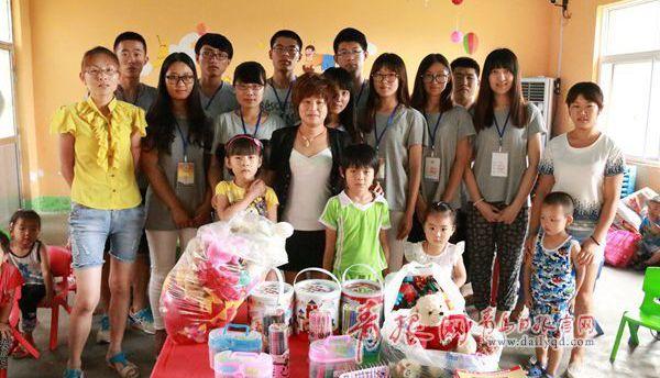 青岛首部关爱留守儿童纪录片暑期实践中完成