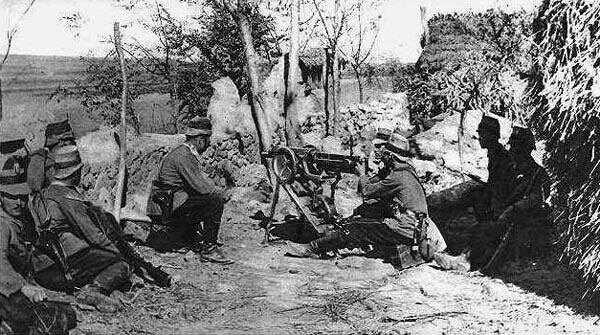 图文呈现日德青岛之战 日军炮火摧毁德军
