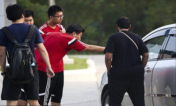 国青训练遭卡塔尔电台偷拍 被发现后不肯撤离