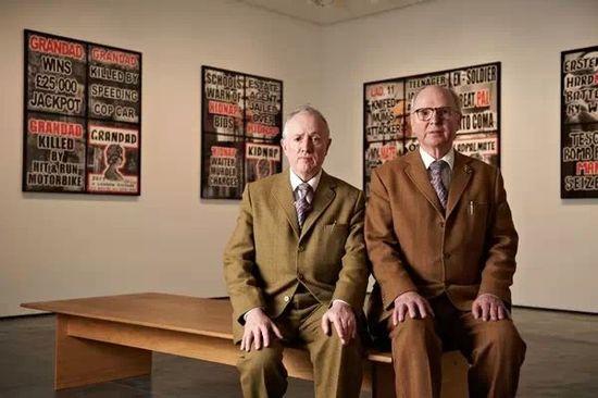 """""""吉尔伯特与乔治双人组"""",艺术圈最有爱的Gay Couple!"""