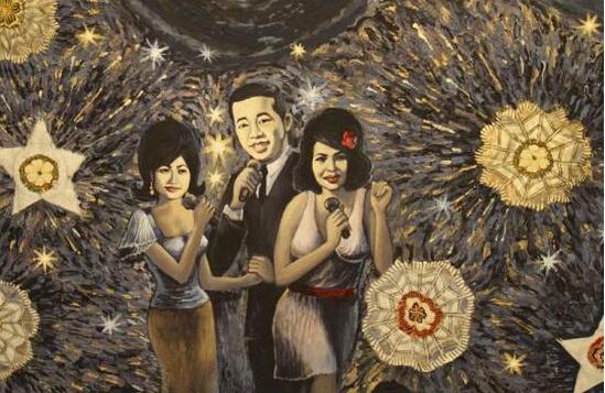 艺术中的璀璨烟花