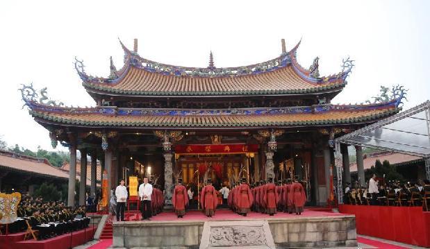 古礼春祭孔庙缅怀先师