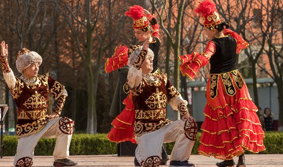 2015诺鲁孜节在中石大开幕