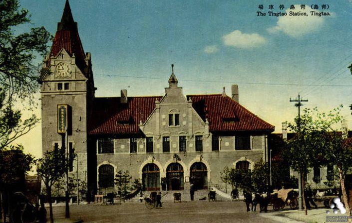 民国时期青岛火车站