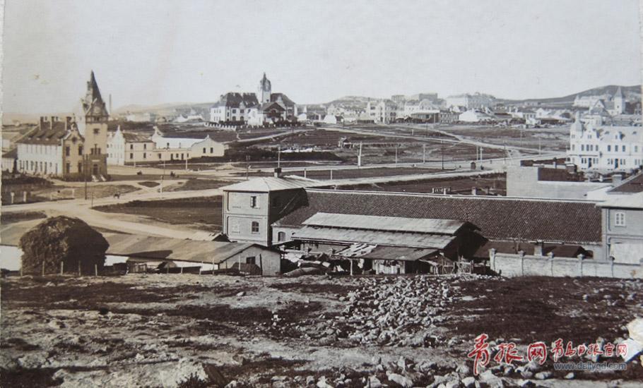 20世纪初的火车站周边.jpg