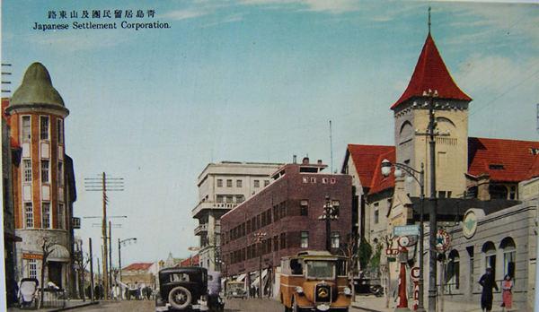 日占青岛时期的明信片:看看都是哪儿?