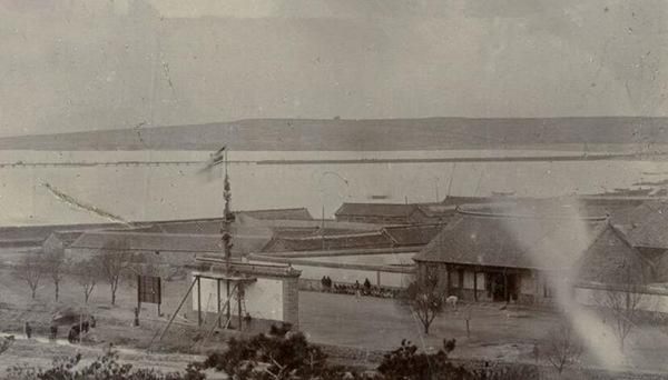德军占领青岛时期的总兵衙门