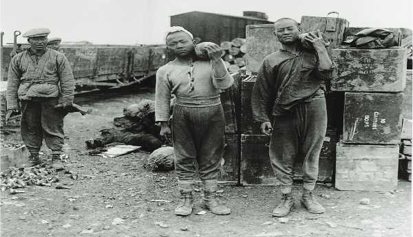 一战华工从青岛赴欧参战 死亡失踪2万人
