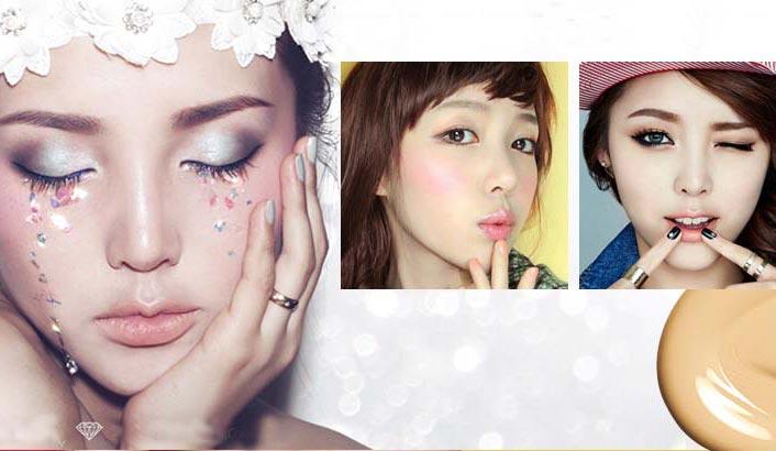 韩国最会化妆的妹子PONY