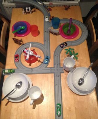创意餐桌三