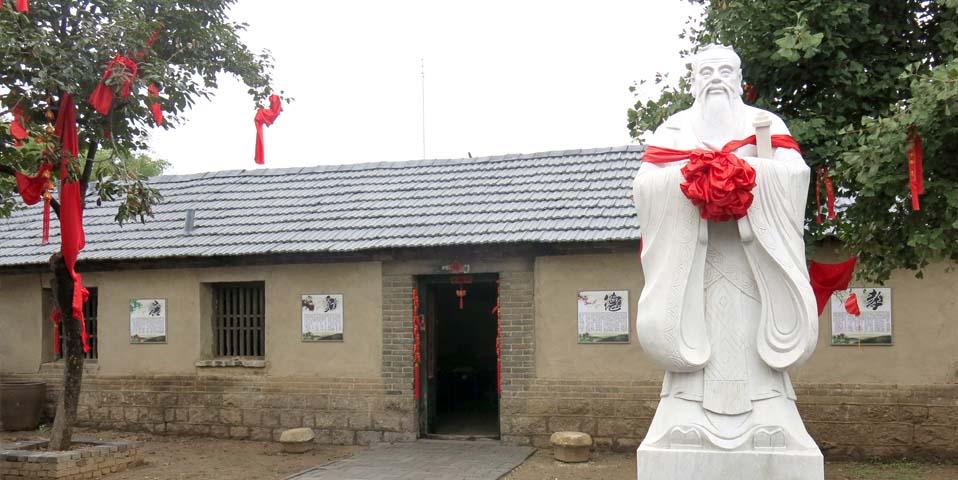 胶州尼山书院青砖灰瓦 重现古代私塾课堂