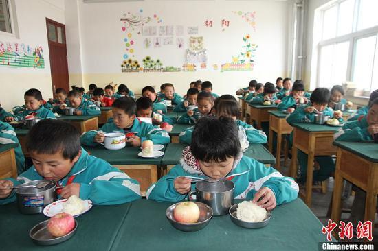 两部门:确保享受营养改善计划学生人数准确无误