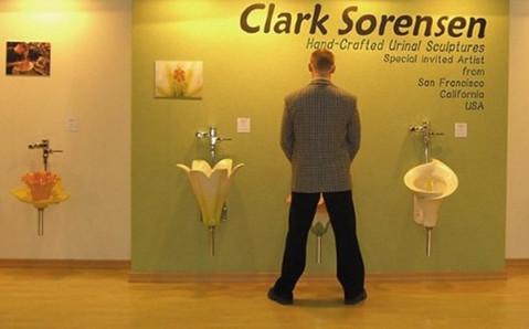 """洗手间里的植物世界 如厕""""浇花"""""""