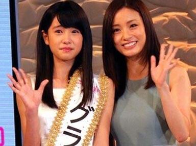 日本选拔美少女初中生夺冠