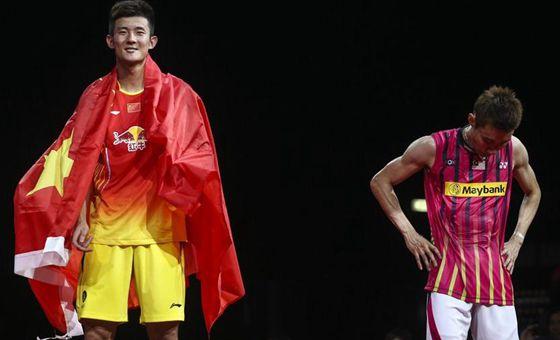 世锦赛:谌龙2-0夺冠 李宗伟连续三届亚军