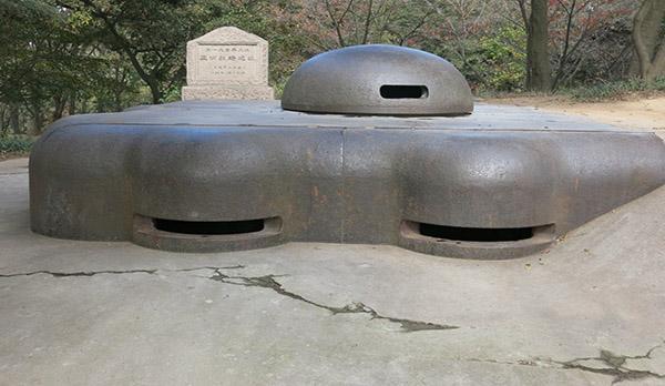 青岛山炮台:曾是亚洲第一地下军事建筑