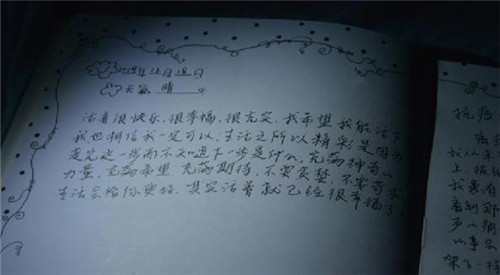 """白血病女孩的""""死亡日记"""""""