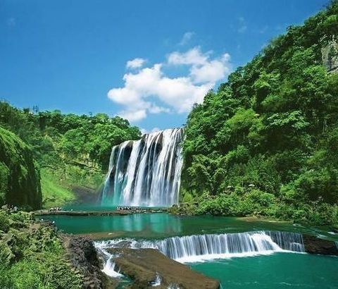 中国最美最酷瀑布,疑是银河落九天
