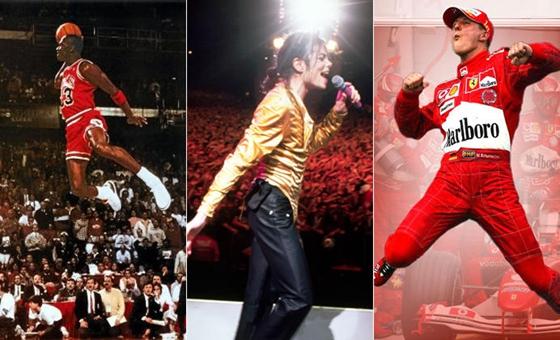 3大迈克尔终极PK:MJ居首 车王乔丹难分伯仲