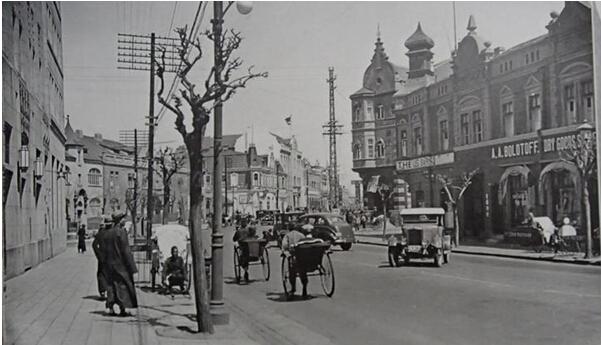 20世纪30年代青岛老照片写真:日本占领下的青岛