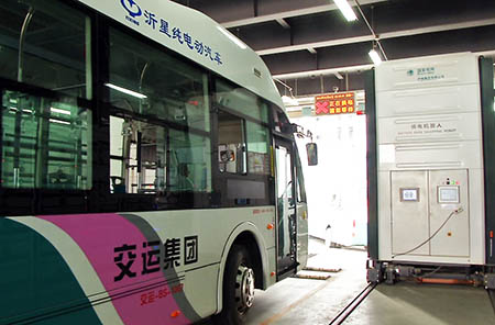 交运集团 无车日 学生 富源路 新能源 监控 指挥中心 道路 运营