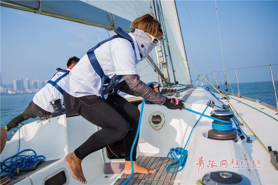 葉子相信自己能征服大海,也能征服那片帆