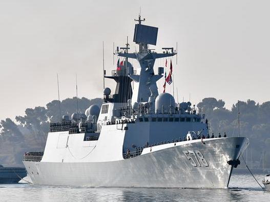 中国海军第二十六批护航编队访问法国
