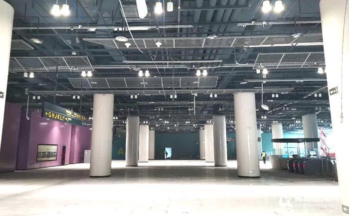 倒计时!青岛地铁8号线最大车站—红岛火车站临近验收