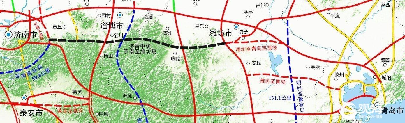 济青中线济南至潍坊段高速公路开工,年内山东高速公路建设这样安排