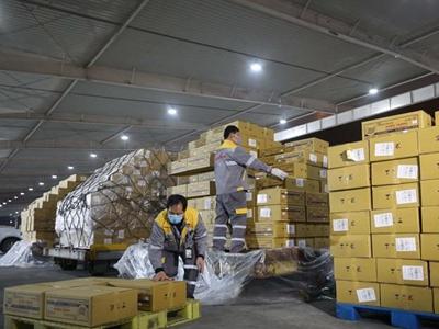 民航局:進口貨物與其它貨物不混裝、不交集